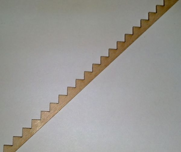 O SCALE STAIR STRINGER